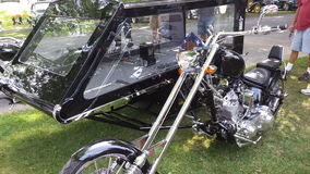 Orange county chopper Hearse Royalty Free Stock Photography