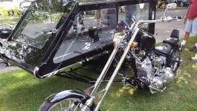 Orange county chopper Hearse royalty free stock photography