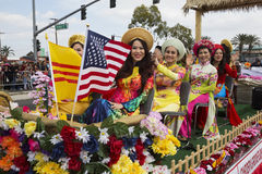 Orange County, City of Westminster, Southern California, USA, February 21, 2015, Little Saigon, Vitenamese-American Community,  TE Royalty Free Stock Photos