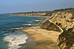 Orange County Coast Stock Photo