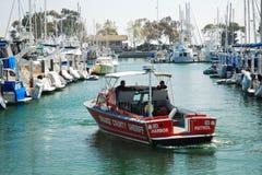 Orange County-Hafen Partrol stockbilder