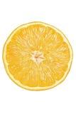 Orange coupée en tranches Photo libre de droits