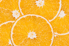 Orange coupée en tranches Image libre de droits