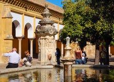 Orange Court - Cordoba stock photos