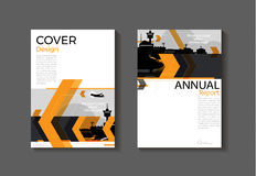 Orange cover modern abstract cover book Brochure template, desig. N, annual report, magazine and flyer layout Vector a4 vector illustration