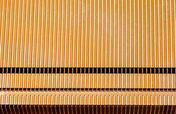 Orange CPU computer heatsink Royalty Free Stock Images