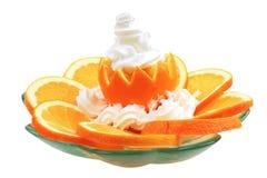 orange crème photographie stock libre de droits