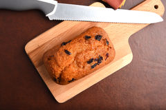 Orange cranberry bread Stock Images