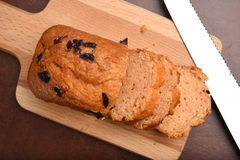 Orange cranberry bread Royalty Free Stock Images