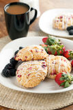 Orange Cranberry Scones Royalty Free Stock Image