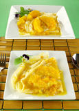Orange Crepes Royalty Free Stock Images