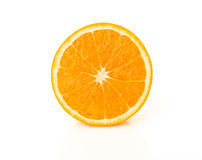 Orange cross section Royalty Free Stock Photography