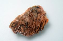Orange crystal stone. Close up of Orange crystal stone mineral Royalty Free Stock Photos