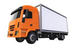 Orange Cub Cargo Truck Royalty Free Stock Image