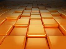 Orange cubes Royalty Free Stock Photo