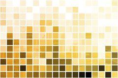 Orange Cubic Professional Abstract Background. In Clean Squares Royalty Free Stock Photo