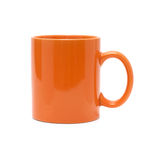 Orange cup Stock Image