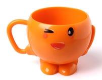 Orange Cup Lizenzfreie Stockfotografie