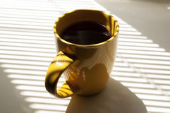 Orange cup of tea Royalty Free Stock Image