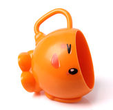 Orange cup Royalty Free Stock Images