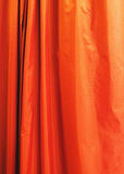 Orange curtain Royalty Free Stock Photos