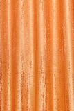 Orange curtain Royalty Free Stock Image