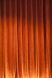 Orange Curtain backdrop Royalty Free Stock Image