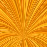 Orange curved ray burst background - vector graphic from striped rays. Orange curved ray burst design background - vector graphic from striped rays Stock Images