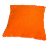 Orange cushion Royalty Free Stock Images