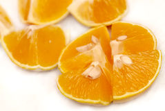 Orange cuts Royalty Free Stock Images