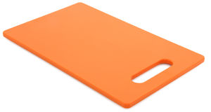 Orange Cutting Board Royalty Free Stock Image
