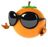 Orange d'amusement illustration libre de droits