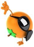 Orange d'amusement illustration de vecteur