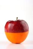 Orange d'Apple Photo libre de droits