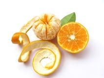 Orange-D'isolement photo stock