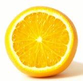 Orange, d'isolement Photo libre de droits