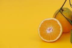 Orange dans la durée Image stock