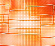 Orange Database Background Royalty Free Stock Photography