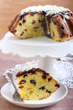 Orange and date cake Stock Images