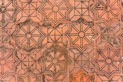 Orange de fond de pierre de texture de tuile images libres de droits