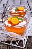 Orange de gelée Images stock