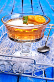 Orange de gelée Photo stock