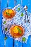 Orange de gelée Photographie stock libre de droits