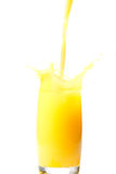 orange de jus Photo libre de droits