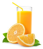 orange de jus image libre de droits