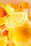 orange de jus Photo stock