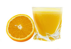orange de jus images libres de droits