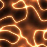 orange de l'électricité Image libre de droits
