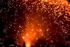 orange de lampe de noyau Photos libres de droits