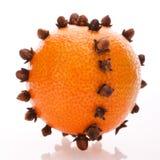 orange de Noël Photo libre de droits
